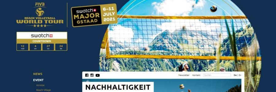 AquaJet: offizieller Sponsor für die Desinfektion der Beachworldtour Gstaad