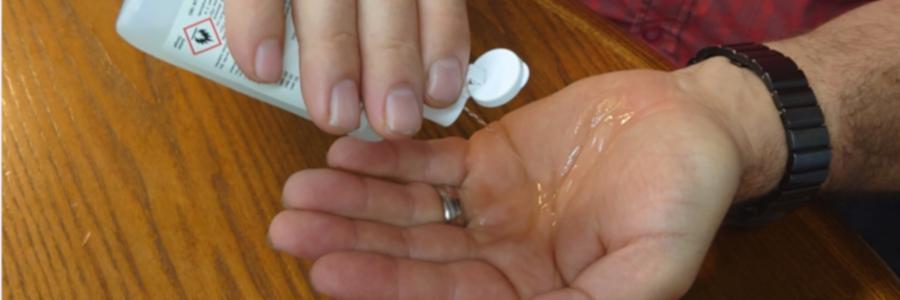 FDA warnt, dass Dämpfe von Handdesinfektionsmitteln auf Alkoholbasis Nebenwirkungen haben können