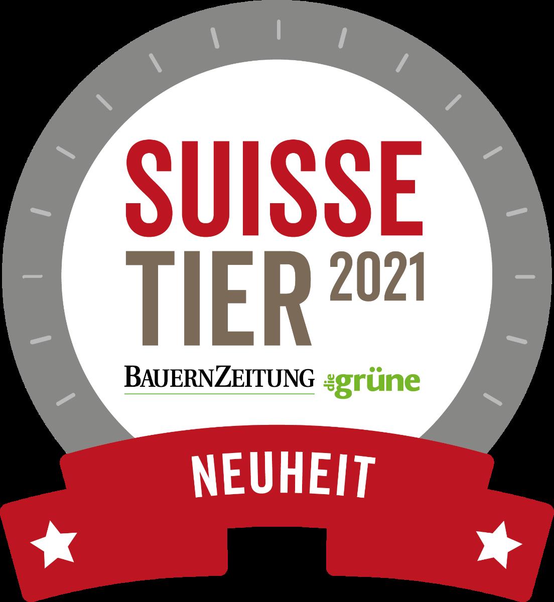 SuisseTier_21_Plakette_Neuheit