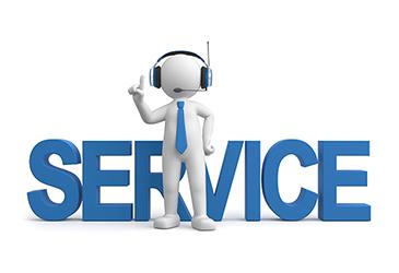 Bild zu Service