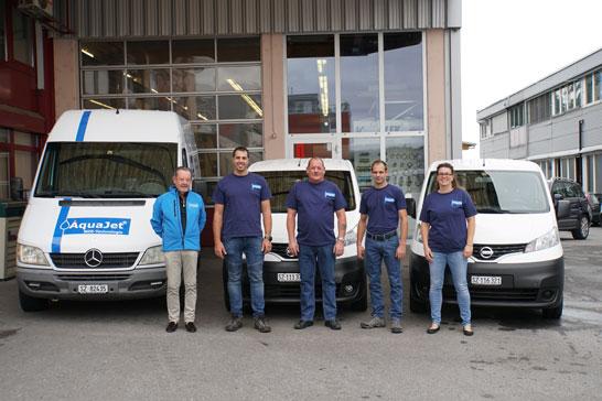 Das Team der AquaJet AG